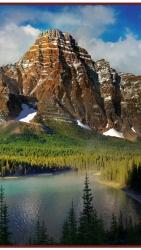 Горы - греющая инфракрасная, настенная картина гибкая