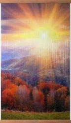 Осенний лес - греющая инфракрасная, настенная картина гибкая