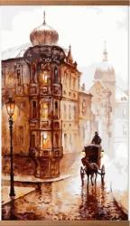 Старая Прага - греющая инфракрасная, настенная картина гибкая