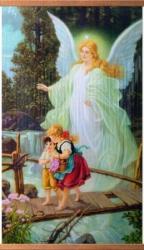 Ангел-хранитель - греющая инфракрасная, настенная картина гибкая