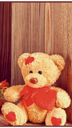 Медведь - греющая инфракрасная, настенная картина гибкая