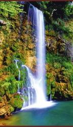 Водопад - греющая инфракрасная, настенная картина гибкая